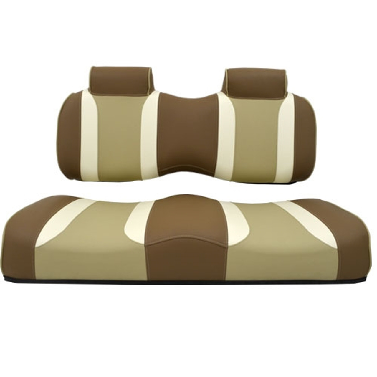Madjax TSUNAMI Caramel Oyster with Autumn Harvest Front Seat Cushion Set