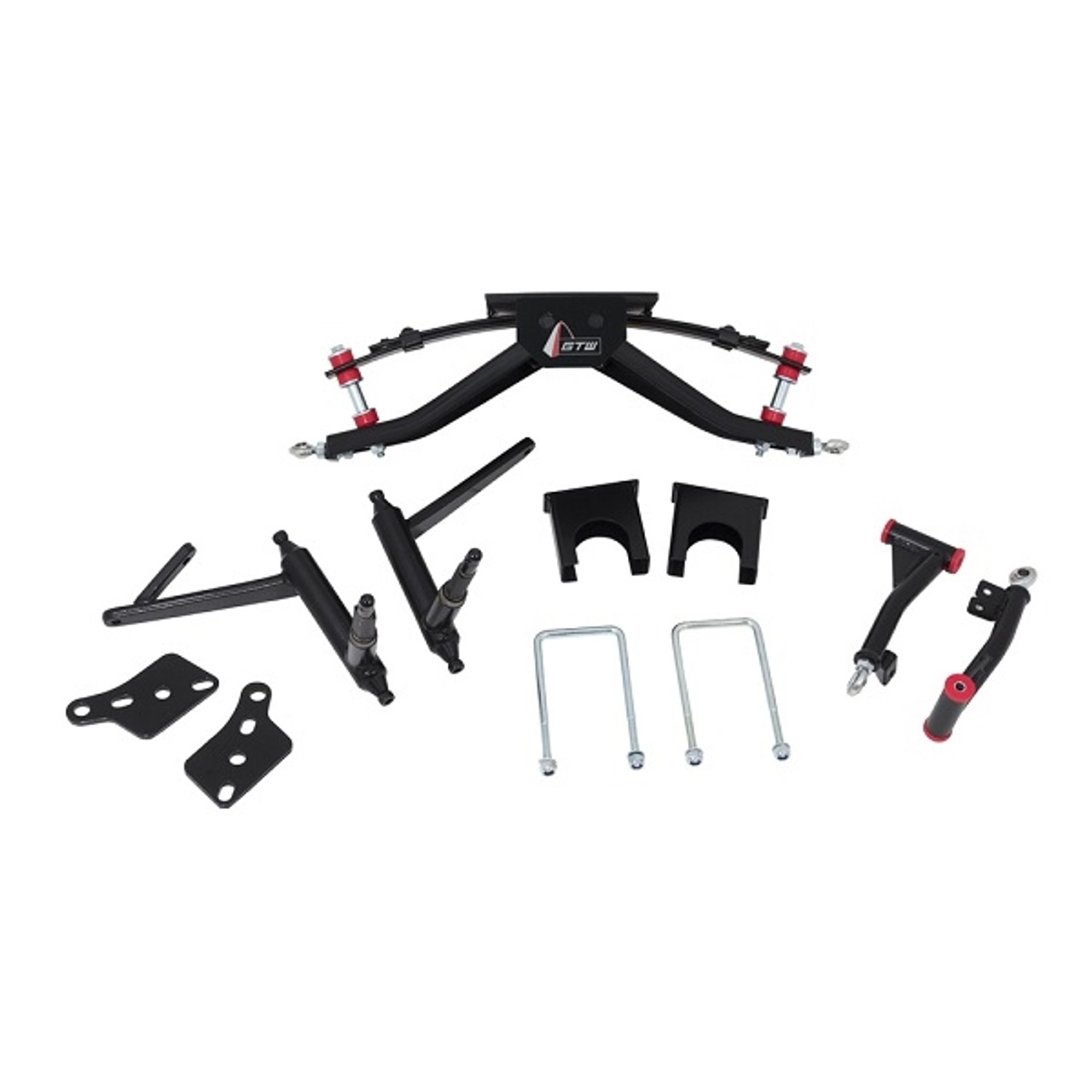 """GTW 6"""" Double A-Arm Lift Kit - Fits Club Car DS (2004.5-Up)"""