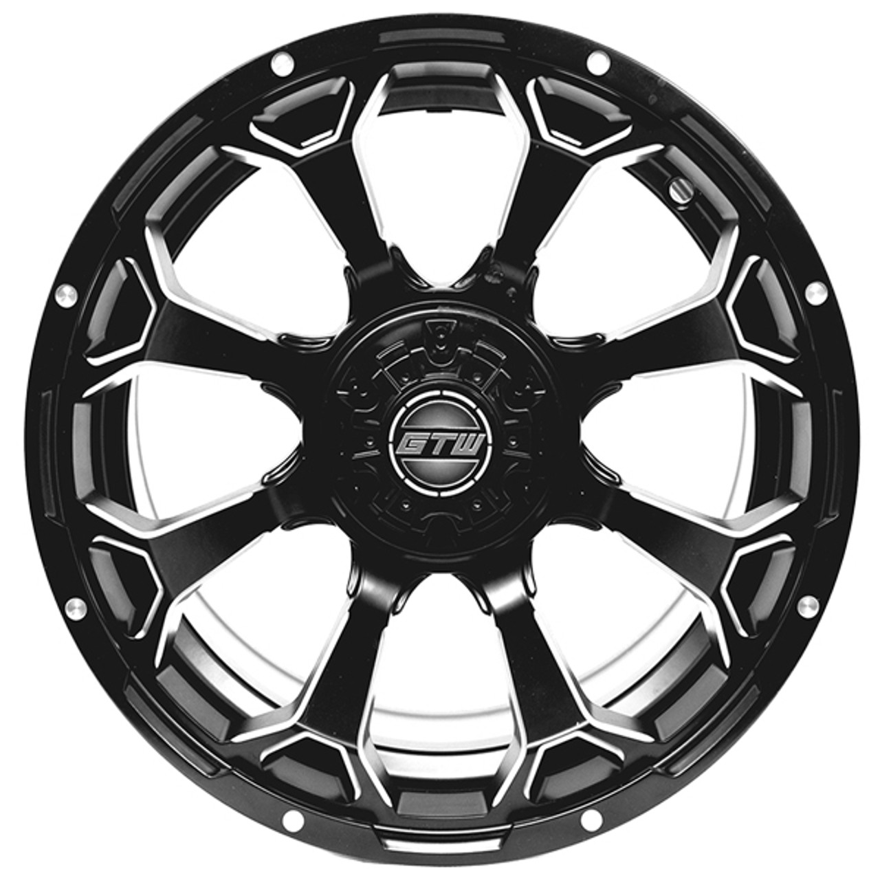 "GTW 14"" RAVEN Matte Black Wheel"