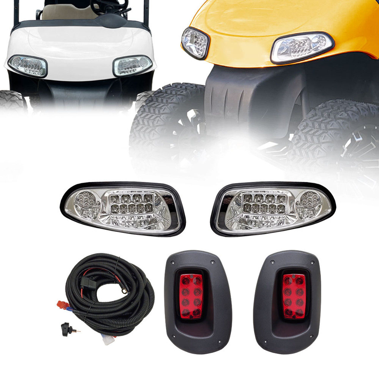 ProFormX Upgradable LED Light Kit for E-Z-Go TXT-Freedom-T48 (2014 and up) - Plug & Play Installation