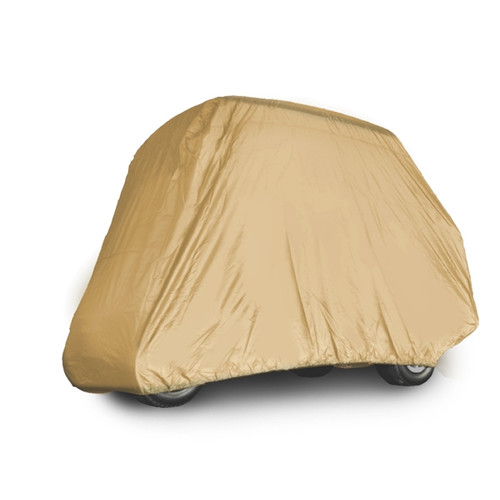 Madjax Golf Cart Cover - Fits 4 Passenger Carts with OEM Roof and Rear Flip Seat