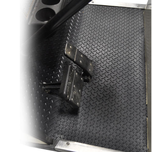 Madjax Replacement Diamond Plated Floormat - Fits EZ-GO TXT