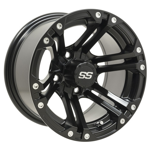 GTW 12x7 SPECTER Matte Black Wheel