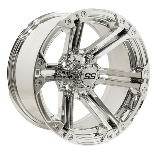 Madjax 12x7 NITRO Chrome Wheel