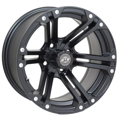 Madjax 14x7 NITRO Matte Black Wheel