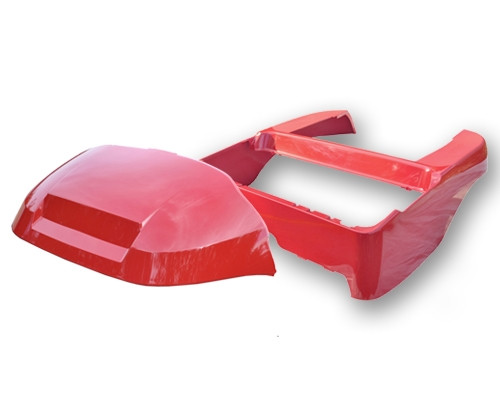 Madjax Red OEM Club Car Precedent Body Kit (Fits 2004-Up)