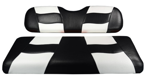 Madjax RIPTIDE Black/White Rear Seat Cushion Set