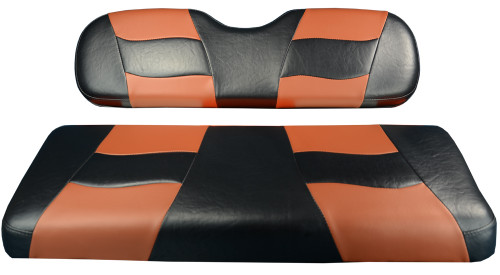 Madjax RIPTIDE Black/Moroccan Rear Seat Cushion Set