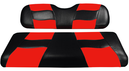 Madjax RIPTIDE Black/Red Rear Seat Cushion Set