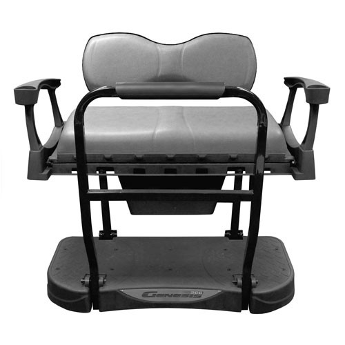 Madjax Genesis 300 Rear Flip Seat with Deluxe (Stone) Cushions