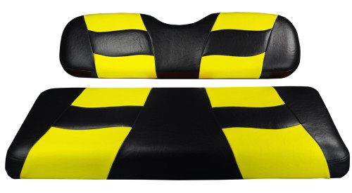 Madjax RIPTIDE Black/Yellow Rear Seat Cover