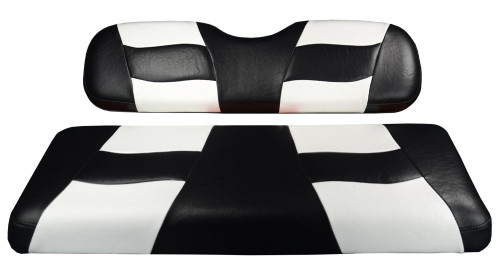 Madjax RIPTIDE Black/White Rear Seat Cover