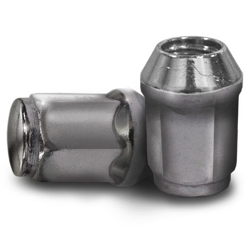 Madjax Chrome 1/2x20 Standard Lug Nuts (4 - 4 packs) - Fits Club Car & EZ-GO Golf Carts