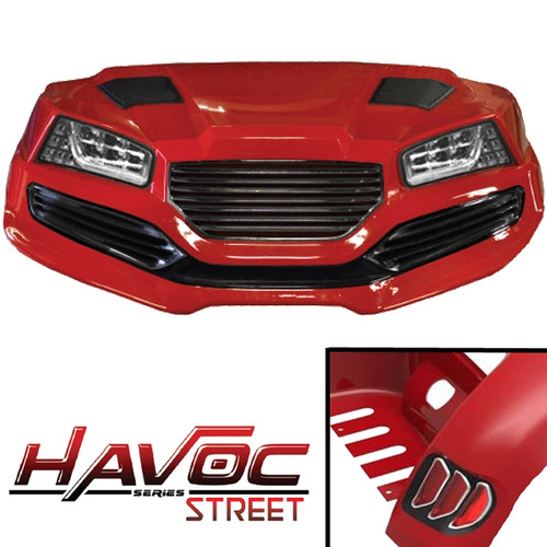 Madjax Red 'HAVOC' Street Series Body Kit - Fits Yamaha Drive/G29 (2007-2016)