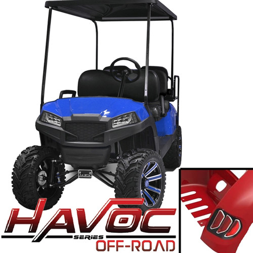 Madjax Blue HAVOC Off-Road Series Body Kit