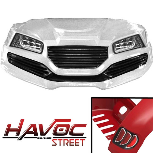 Madjax White HAVOC Street Series Body Kit
