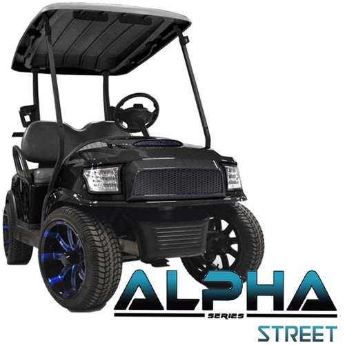 Madjax Black ALPHA Street Series Front Cowl Kit