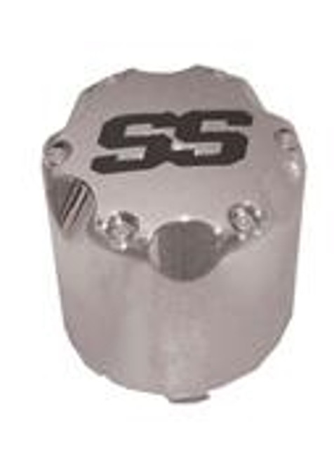 SS Chrome Snap-In Center Cap - Set of 4