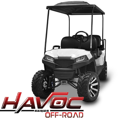 Madjax White HAVOC Front Cowl w/ Off-Road Fascia & Headlights