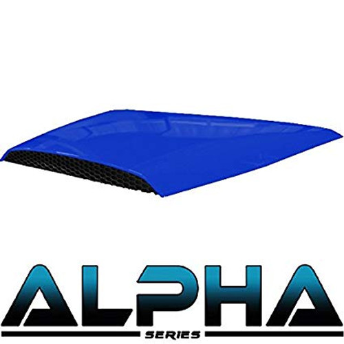 Madjax Blue Hood Scoop for ALPHA Front Cowl