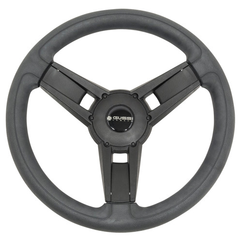 Gussi Giazza Black Steering Wheel