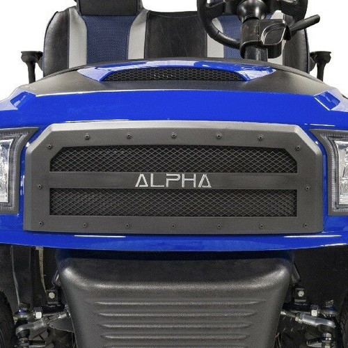 Madjax ALPHA Off-Road Black Grille Insert - Fits Club Car Precedent (2004-Up)