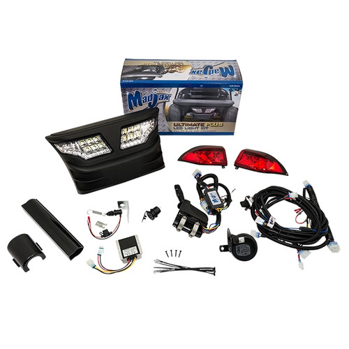 Madjax LED Automotive Style Ultimate Light Kit - Fits Club Car Precedent (2004-up)