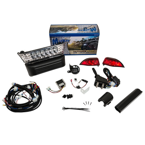 Madjax LED Style Light Bar Ultimate Kit Plus - Fits Club Car Precedent (2004-Up)