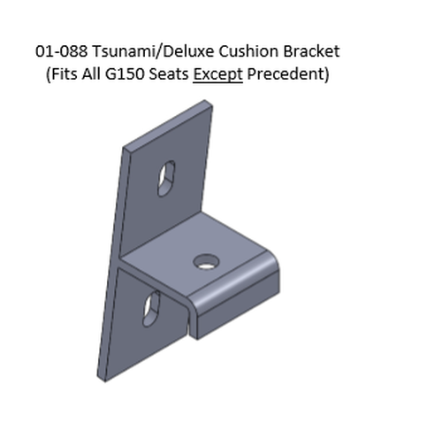 Genesis 150 Adaptor Brackets for Deluxe (Tsunami/Riptide) Rear Seat Cushions
