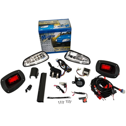 Madjax LED Ultimate Light Kit Plus - Fits EZGO RXV (2008-2015)