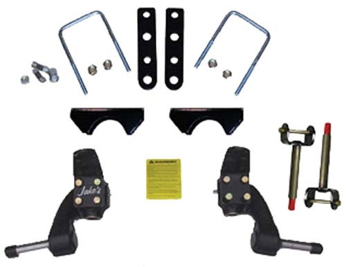 "JAKE'S 3"" Spindle Lift Kit - Fits Club Car Precedent 2004-Up (Gas & Electric)"
