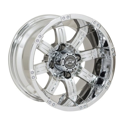 GTW 12x7 TEMPEST Chrome Wheel