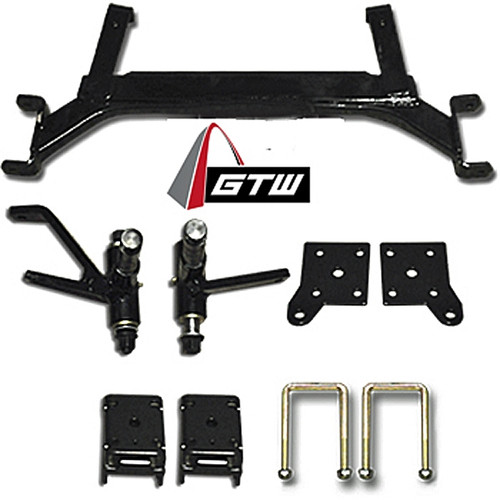 "GTW 5"" Drop Axle Lift Kit - Fits EZGO TXT Electric Models (2001.5 - 2013)"