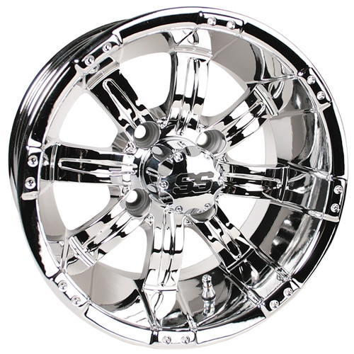 "GTW 10"" TEMPEST Chrome Wheel"