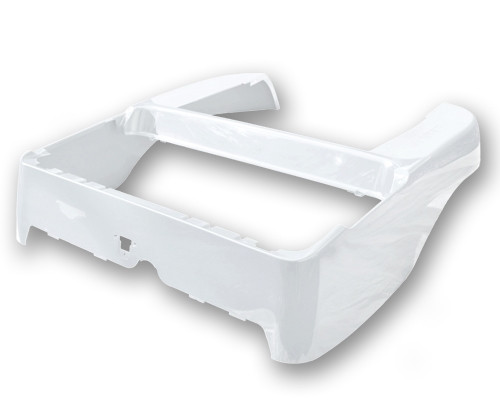 Madjax White ALPHA Series Rear Body - Fits Club Car Precedent (2004-Up)