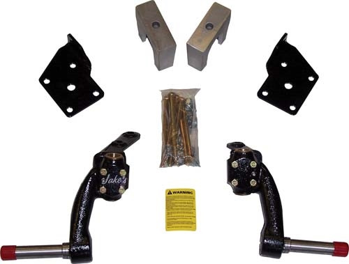 "JAKE'S 6"" Spindle Lift Kit - Fits Fairplay, Star, Zone Electric Carts (2005-Up)"