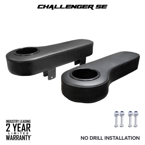 Arm Rests (Black) - Fits Challenger SE Rear Seats