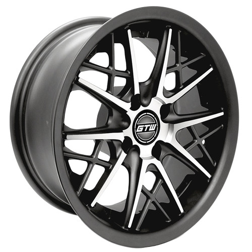 "GTW 14"" AXIS Matte Gray/Machined Wheel"