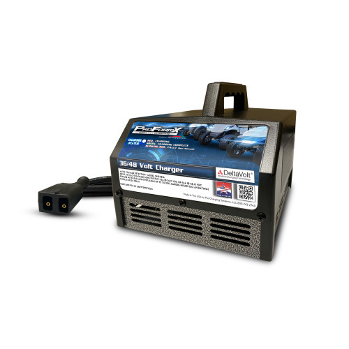 ProFormX Golf Cart Battery Charger (15 Amp) - Fits 48 Volt E-Z-GO TXT