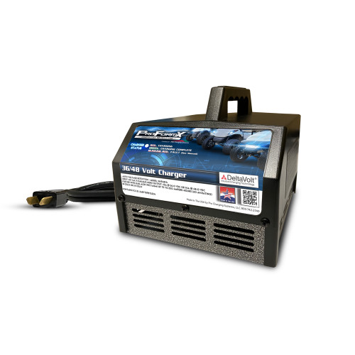 ProFormX Golf Cart Battery Charger (15 Amp) - Fits 36 Volt Club Car DS & E-Z-GO TXT