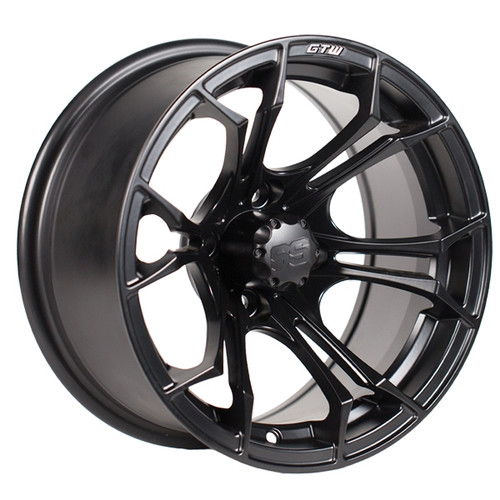"GTW 12"" SPYDER Matte Black Wheel"