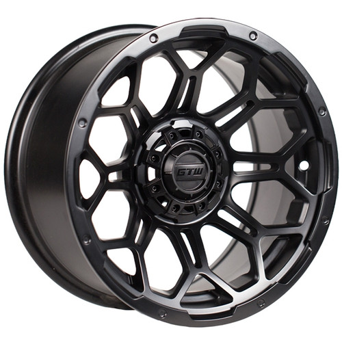 "GTW 14"" BRAVO Mate Black Wheel"
