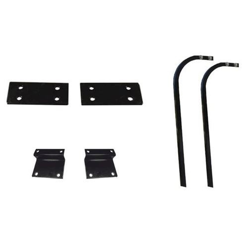 Mounting Brackets & Strut Kit for Triple Track Extended Tops with Genesis 150 Seat Kit - Fits EZGO RXV (2008-Up)