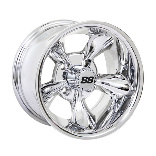 10x7 GTW Godfather Chrome Wheel