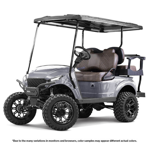 MadJax Storm Body Kit (Silver Metallic) - Fits EZGO TXT 1994 - Up