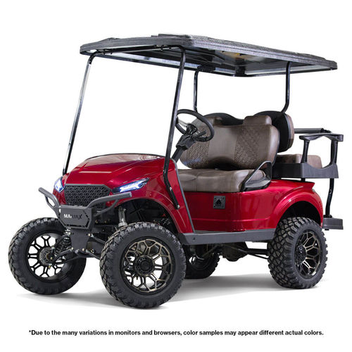 MadJax Storm Body Kit (Cherry Metallic) - Fits EZGO TXT 1994 - Up