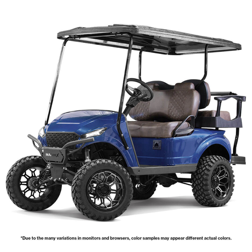 MadJax Storm Body Kit (Admiral Blue Metallic) - Fits EZGO TXT 1994 - Up