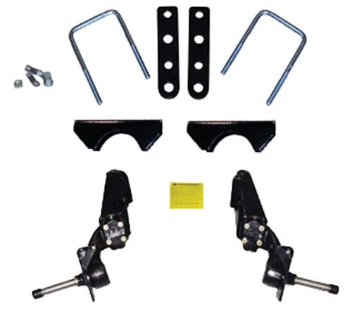 "JAKE'S 6"" Spindle Lift Kit - Fits Club Car DS/Carryall w/Mech Brakes (1981-Up)"