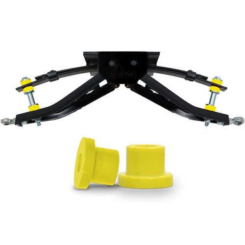 Yellow A-Arm Replacement Bushings - Fits GTW & Madjax Lift Kits