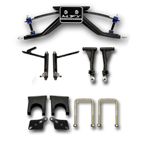 "Madjax 6"" A-Arm Lift Kit - Fits Club Car DS with Steel Dust Caps (1982 - 2004.5)"